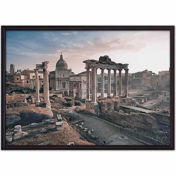 Постер в рамке Дом Корлеоне Римский Форум 50x70 см