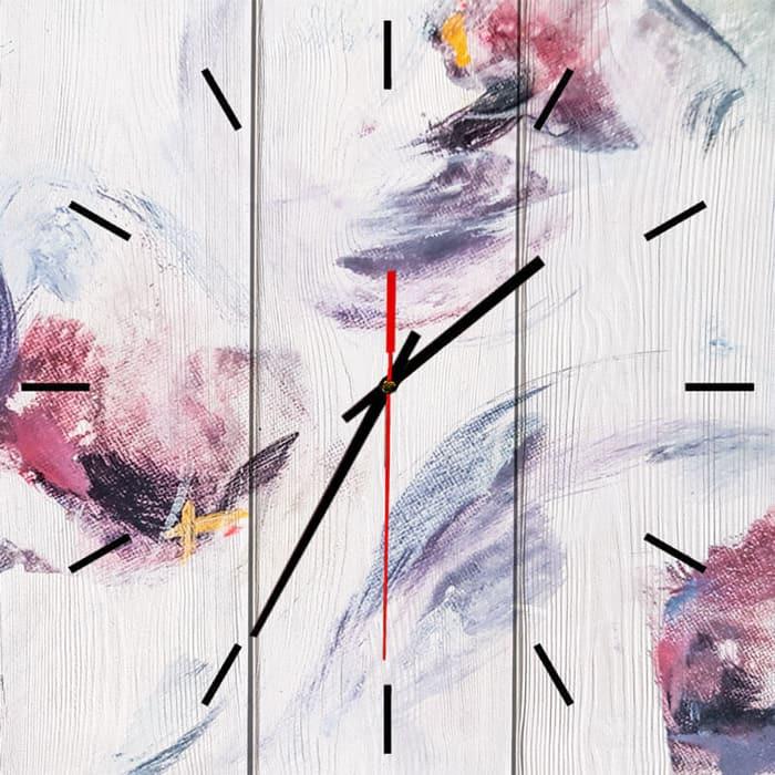 Настенные часы Дом Корлеоне Розовый цвет 40x40 см