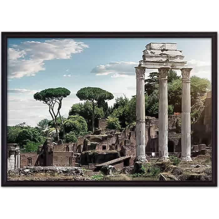 Постер в рамке Дом Корлеоне Руины Рим 40x60 см