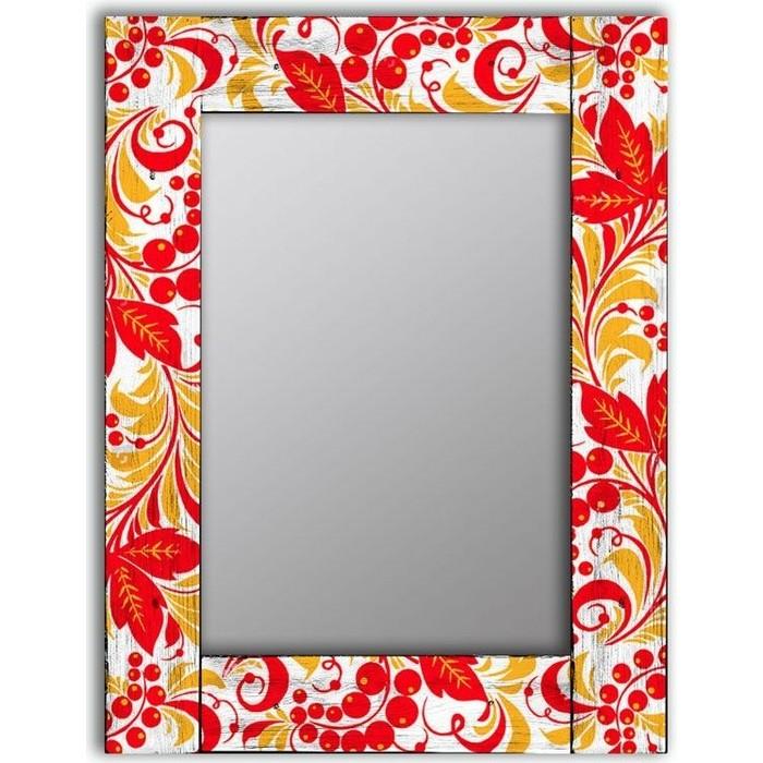 Фото - Настенное зеркало Дом Корлеоне Рябина 75x140 см настенное зеркало дом корлеоне дикая природа 75x140 см