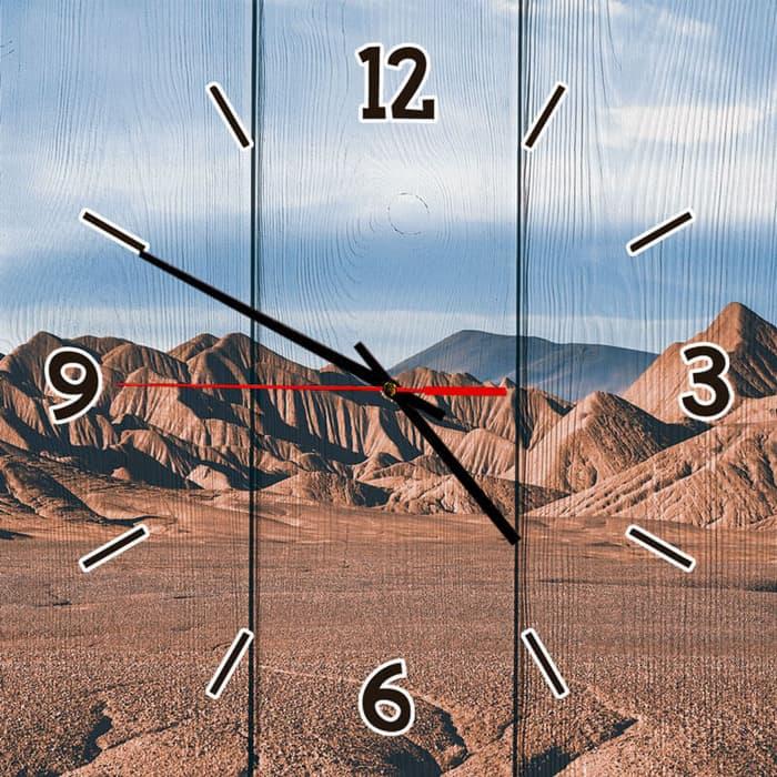 Настенные часы Дом Корлеоне Северная Аргентина 60x60 см настенные часы дом корлеоне лодочники в венеции 60x60 см