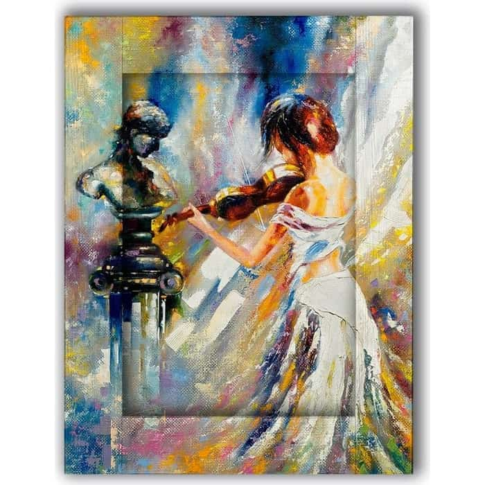 Картина с арт рамой Дом Корлеоне Симфония 80x100 см