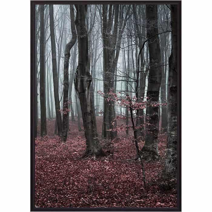 Постер в рамке Дом Корлеоне Сказочный лес 40x60 см