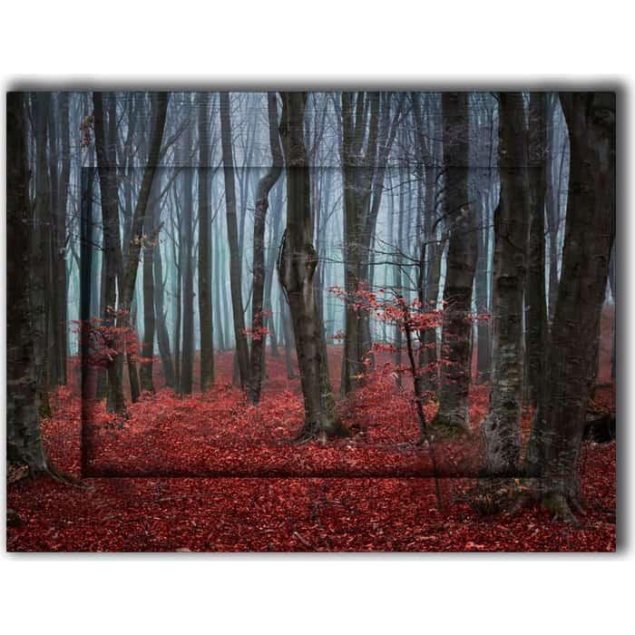 Картина с арт рамой Дом Корлеоне Сказочный лес 80x100 см