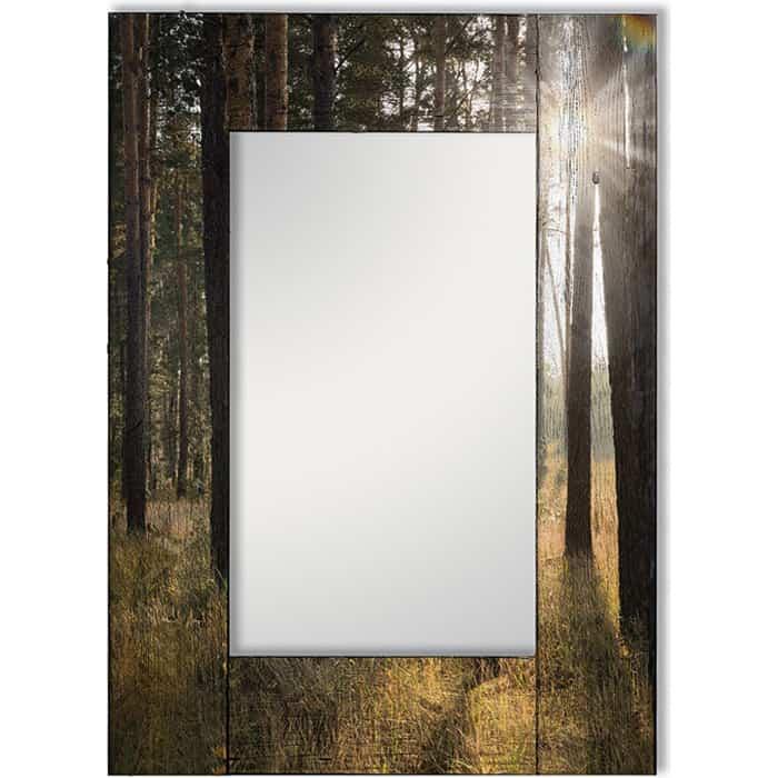 Настенное зеркало Дом Корлеоне Солнечный луч 90x90 см