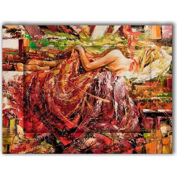Картина с арт рамой Дом Корлеоне Сон 80x100 см картина с арт рамой дом корлеоне прогулка 80x100 см