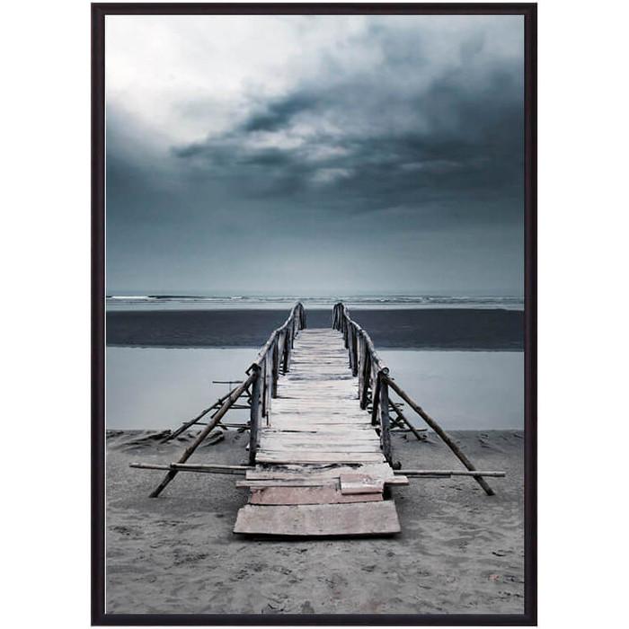 Фото - Постер в рамке Дом Корлеоне Старый мост 50x70 см всеволод соловьев старый дом