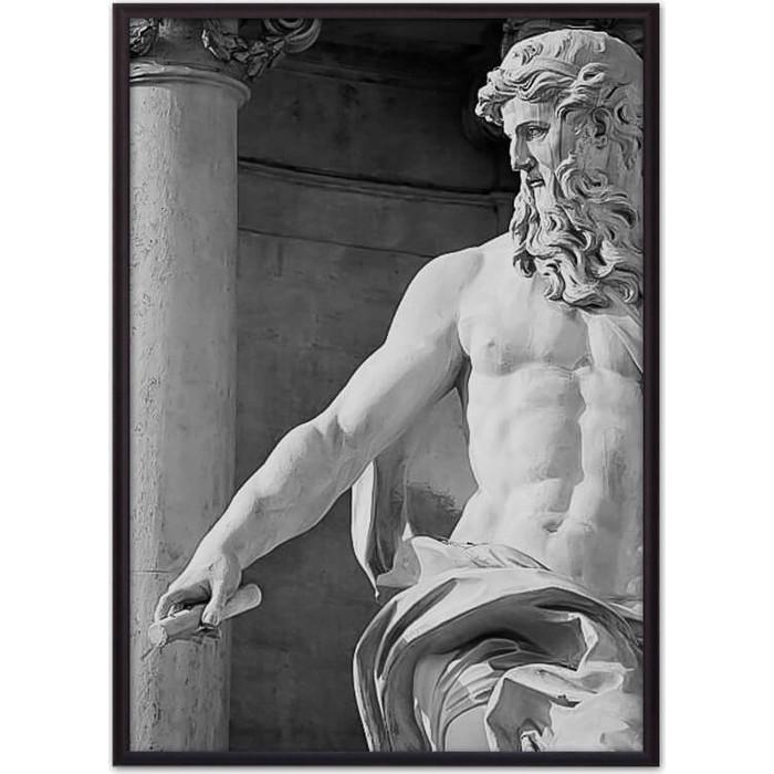 Постер в рамке Дом Корлеоне Статуя Нептуна 21x30 см