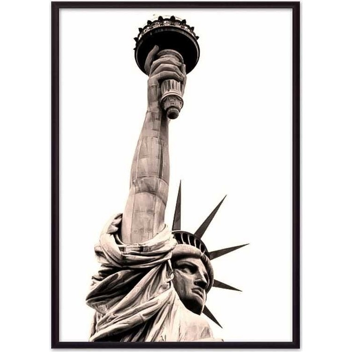 Постер в рамке Дом Корлеоне Статуя Свободы 21x30 см