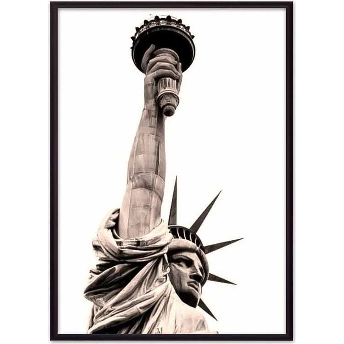 Постер в рамке Дом Корлеоне Статуя Свободы 30x40 см