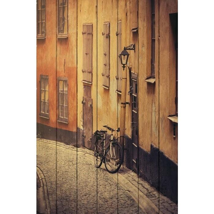 Картина на дереве Дом Корлеоне Стокгольм 100x150 см