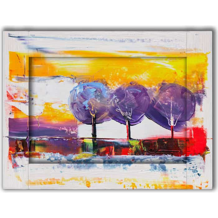 Картина с арт рамой Дом Корлеоне Три дерева 60x80 см