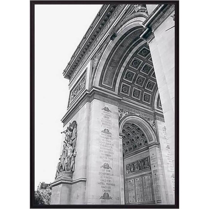 Фото - Постер в рамке Дом Корлеоне Триумфальная Арка Париж 40x60 см постер в рамке дом корлеоне гаргулья париж 40x60 см