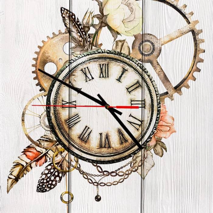 Настенные часы Дом Корлеоне Ход времени 40x40 см