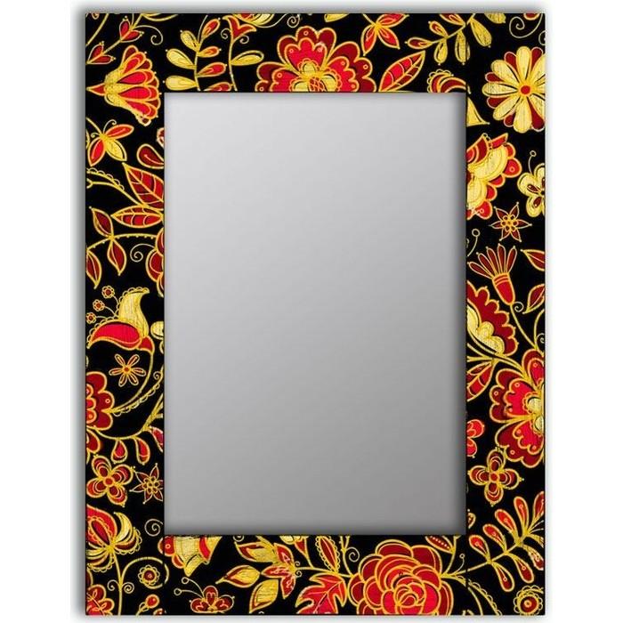Настенное зеркало Дом Корлеоне Цветочная поляна 80x80 см
