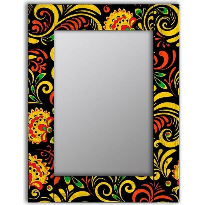 Настенное зеркало Дом Корлеоне Цветочный двор 65x80 см