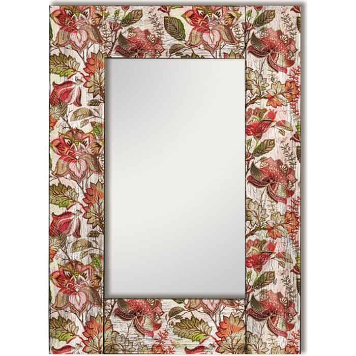 Настенное зеркало Дом Корлеоне Цветы Прованс 75x110 см