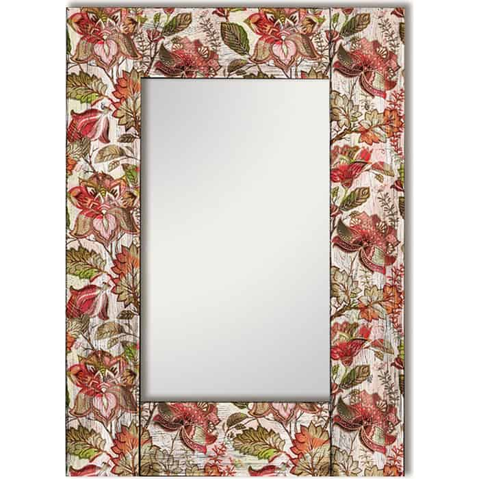 Настенное зеркало Дом Корлеоне Цветы Прованс 80x170 см