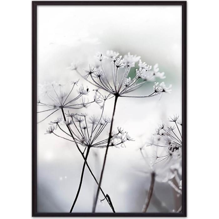 детские зонтики Постер в рамке Дом Корлеоне Цветы-зонтики 30x40 см