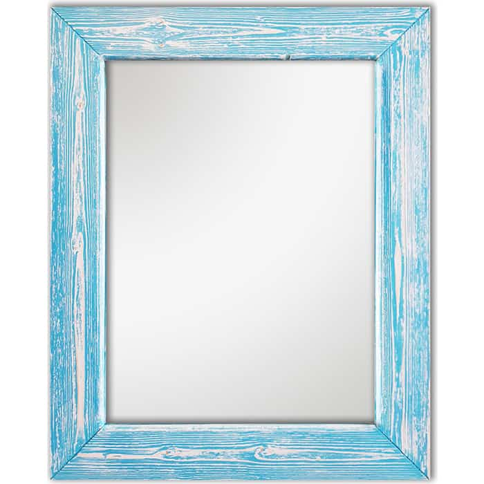 Настенное зеркало Дом Корлеоне Шебби Шик Голубой 60x60 см