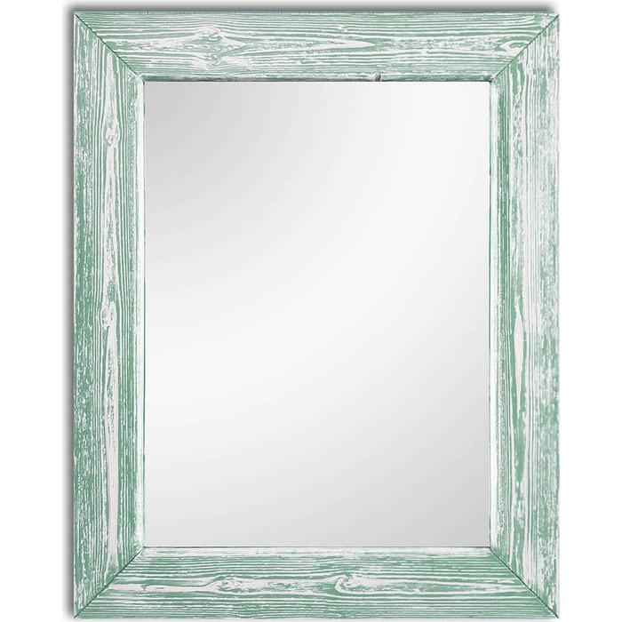 Настенное зеркало Дом Корлеоне Шебби Шик Зеленый 75x110 см