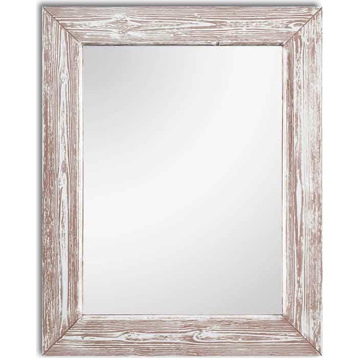 Настенное зеркало Дом Корлеоне Шебби Шик Розовый 90x90 см