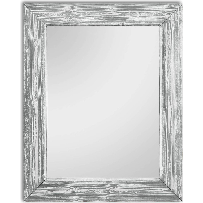 Настенное зеркало Дом Корлеоне Шебби Шик Серый 50x65 см