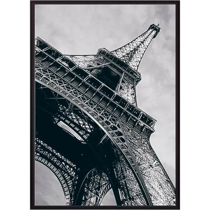 Постер в рамке Дом Корлеоне Эйфелева башня 50x70 см