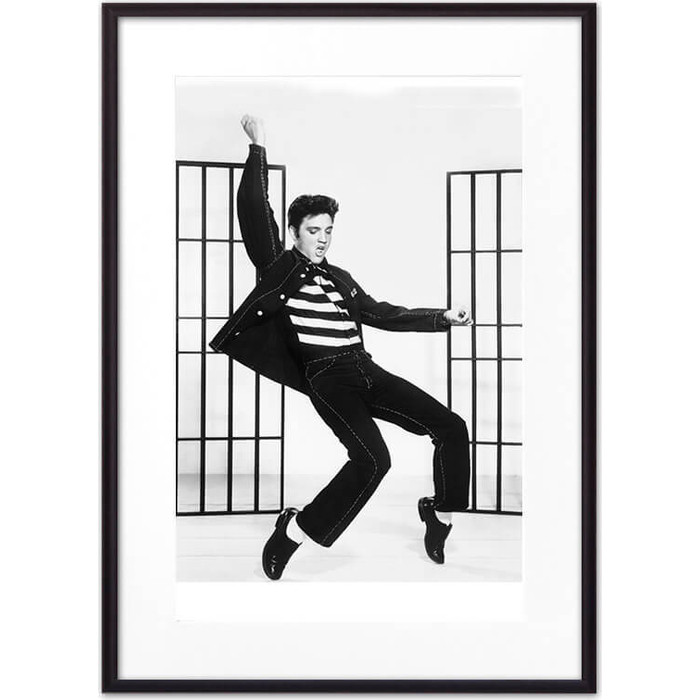 Постер в рамке Дом Корлеоне Элвис Пресли 30x40 см