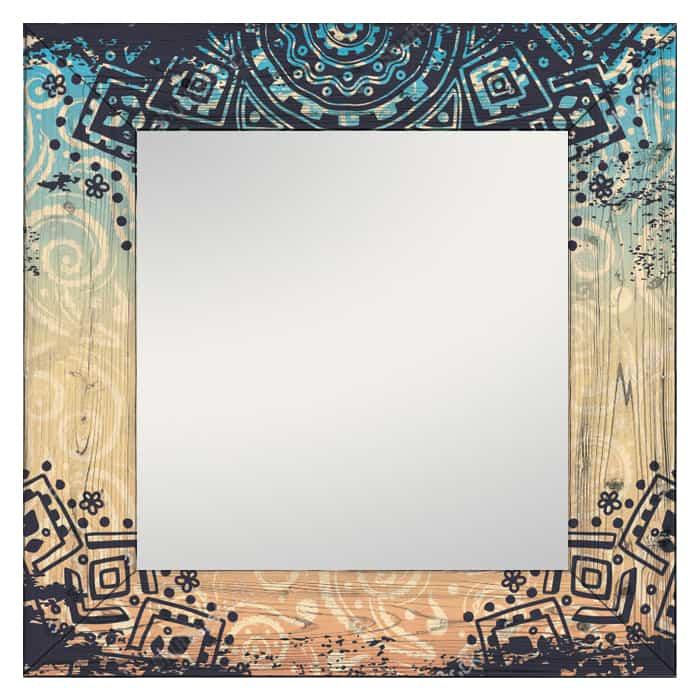 Настенное зеркало Дом Корлеоне Этника 80x80 см