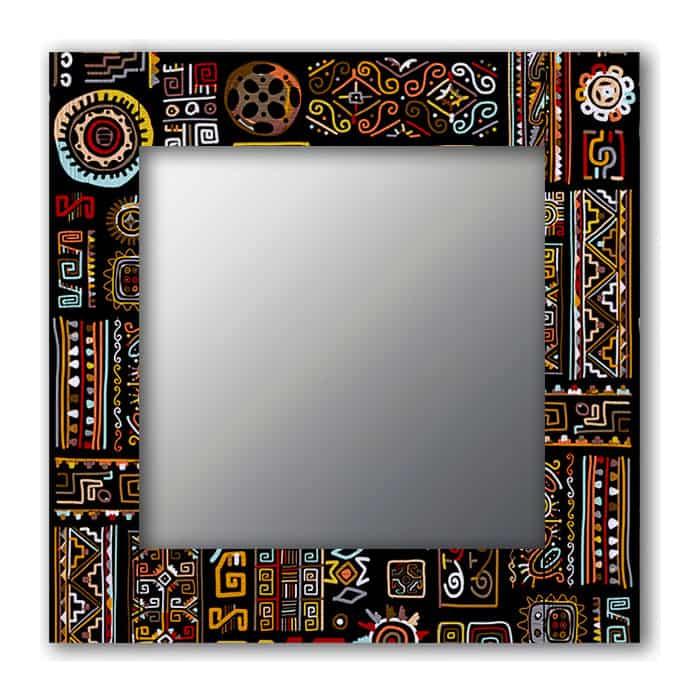 Настенное зеркало Дом Корлеоне Этнический микс 65x80 см