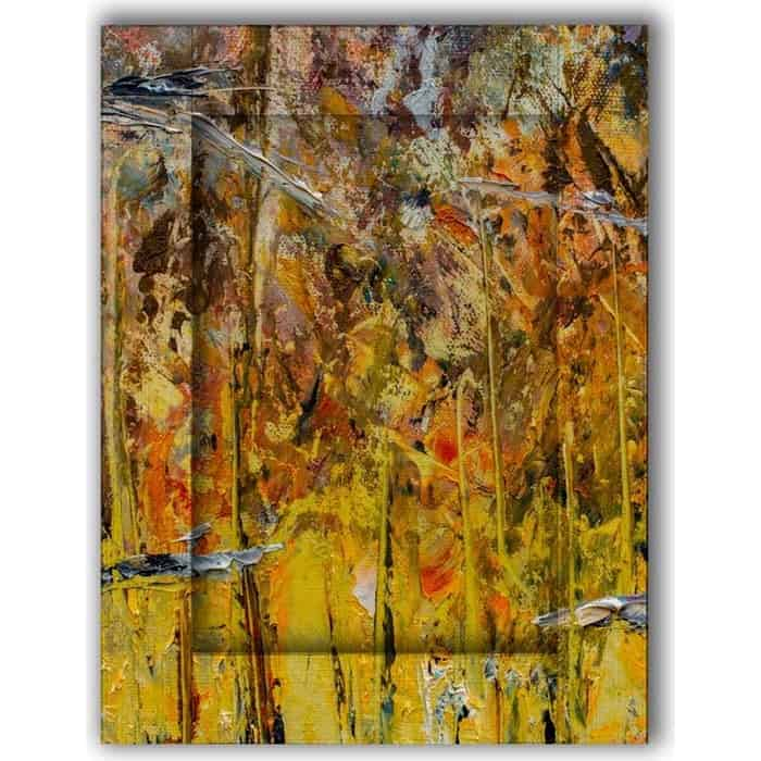 Картина с арт рамой Дом Корлеоне Янтарь 60x80 см