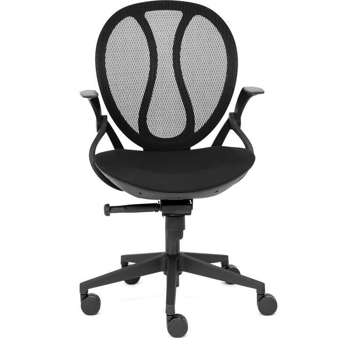 Кресло TetChair Shell ткань черный