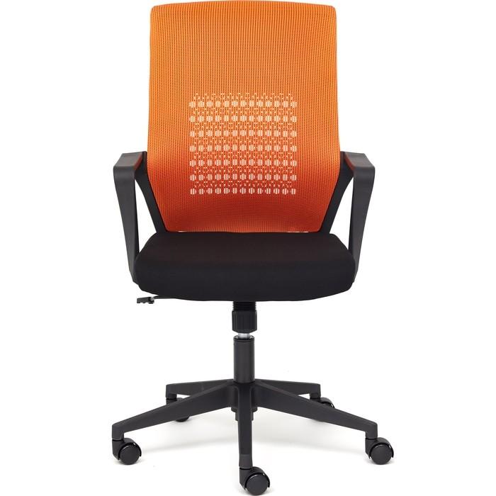 Кресло TetChair Galant ткань оранжевый/черный