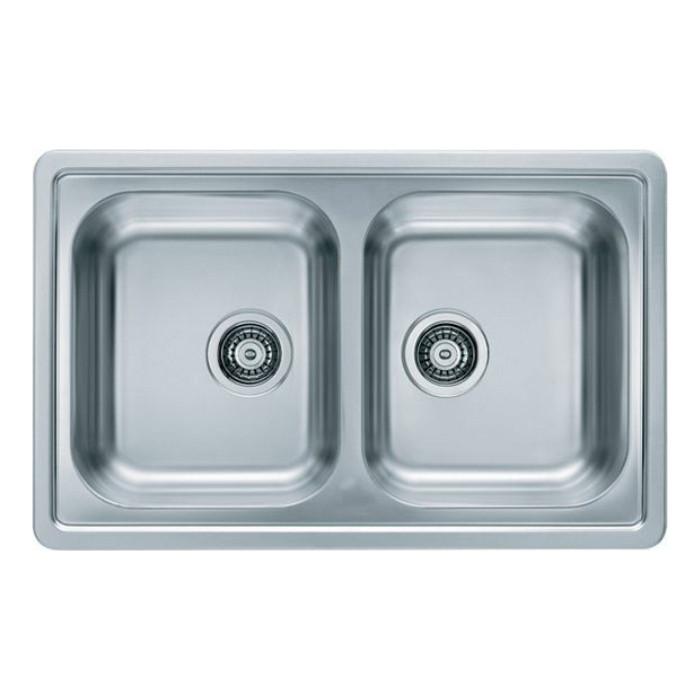 Мойка кухонная Alveus Elegant 40 декор, нержавеющая сталь (1009385)
