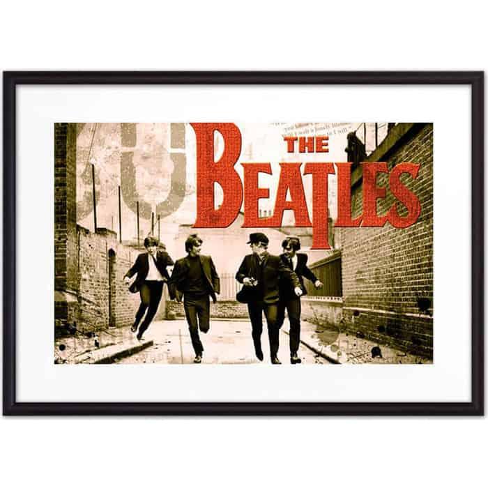 Постер в рамке Дом Корлеоне Битлз 07-0472-30х40