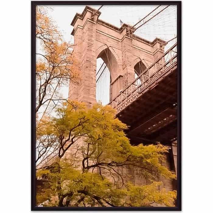 Постер в рамке Дом Корлеоне Бруклинский мост 07-0128-40х60