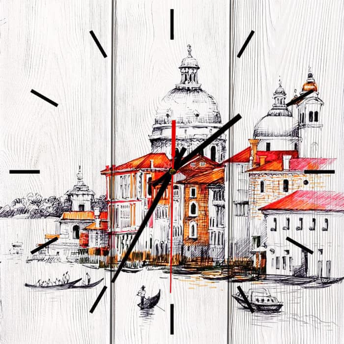 Настенные часы Дом Корлеоне Венеция 02-0052-60х60