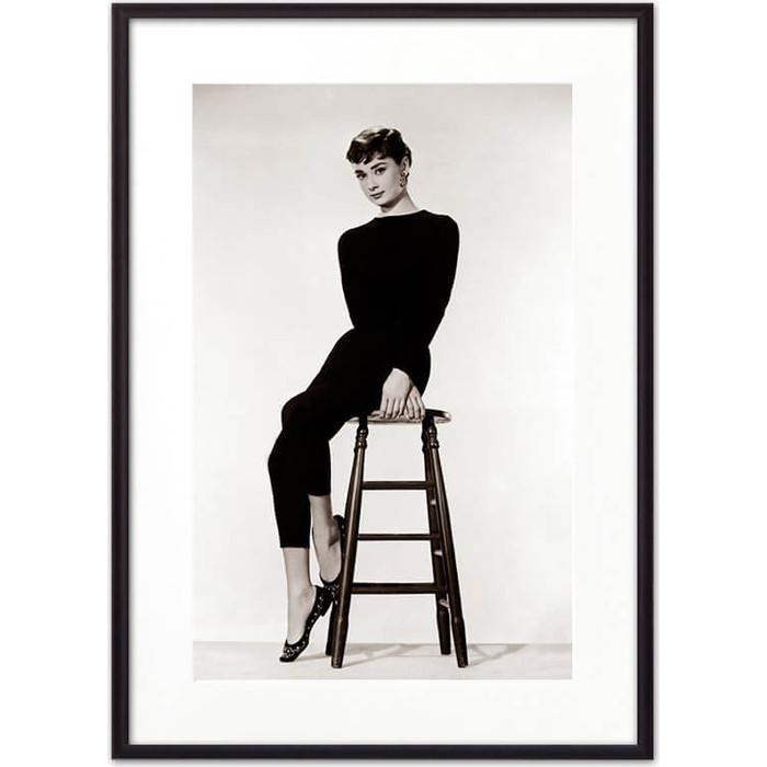 Постер в рамке Дом Корлеоне Одри Хепберн 07-0469-40х60