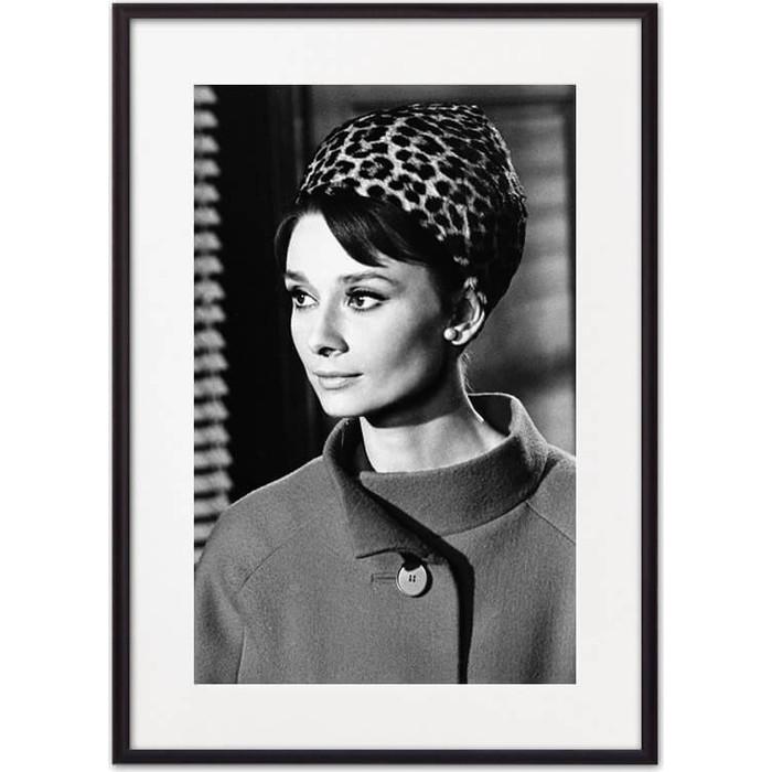 Постер в рамке Дом Корлеоне Одри Хепберн 07-0470-40х60