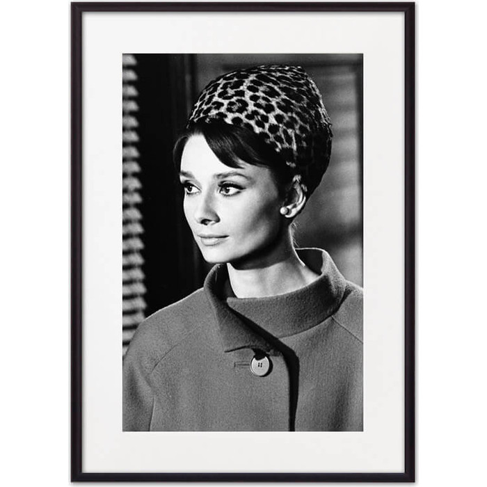 Постер в рамке Дом Корлеоне Одри Хепберн 07-0470-50х70