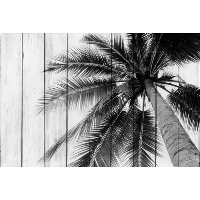 Картина на дереве Дом Корлеоне Пальма 01-0352-40х60