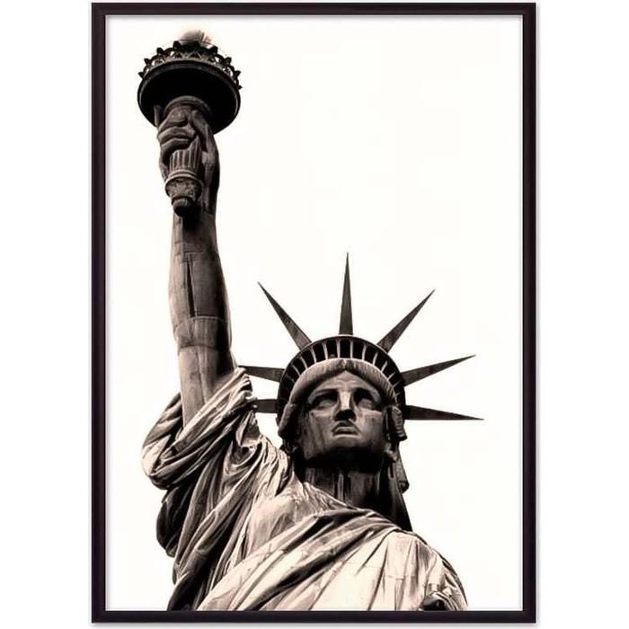 Постер в рамке Дом Корлеоне Статуя Свободы 07-0127-30х40