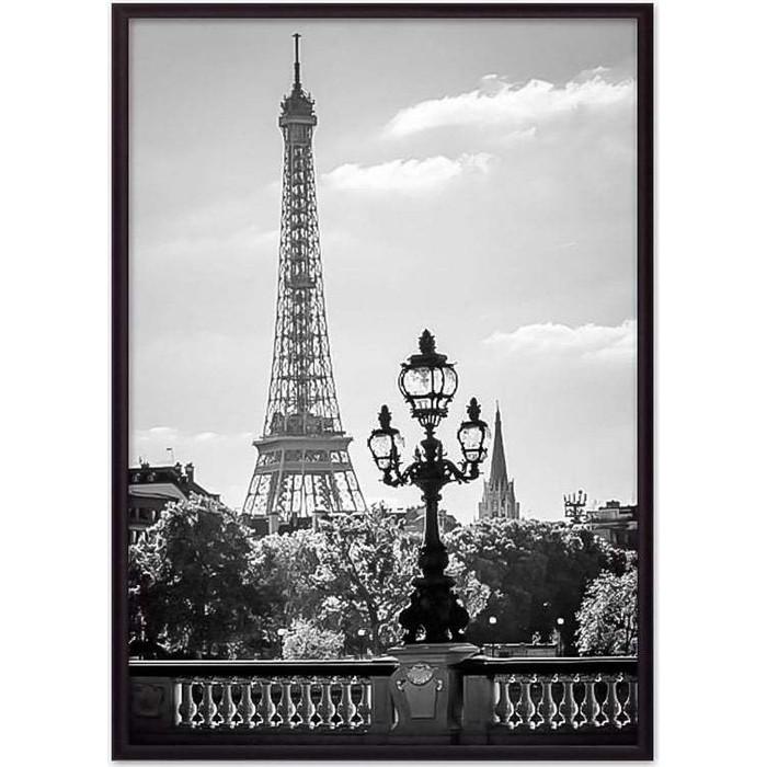 Постер в рамке Дом Корлеоне Эйфелева башня 07-0170-50х70