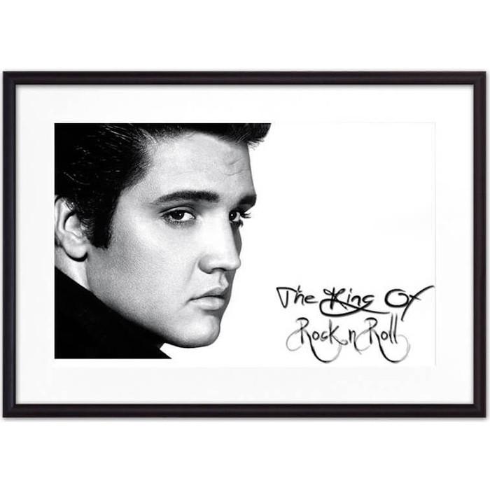 Постер в рамке Дом Корлеоне Элвис Пресли 07-0483-21х30