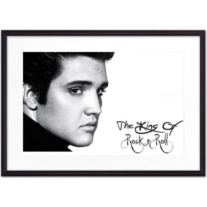 Постер в рамке Дом Корлеоне Элвис Пресли 07-0483-50х70