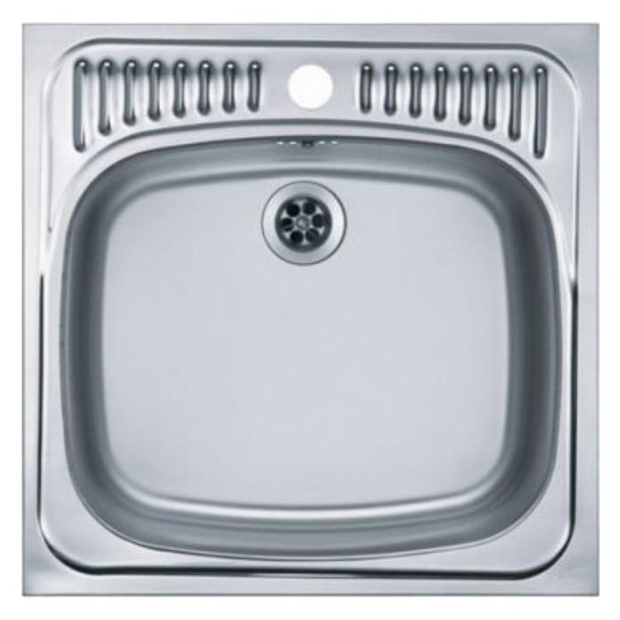 Кухонная мойка Alveus Basic 130 нержавеющая сталь (1008825) кухонная мойка alveus basic 130 1008825 нержавеющая сталь