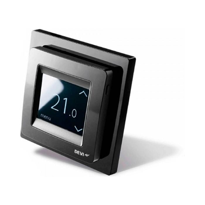 цена на Терморегулятор Devi DEVIreg Touch Pure Black