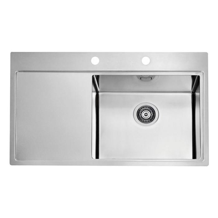 Мойка кухонная Alveus Pure 50R KMB нержавеющая сталь (1103653)