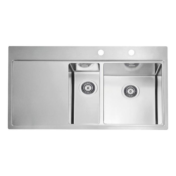 Мойка кухонная Alveus Pure 60R KMB нержавеющая сталь (1103655)